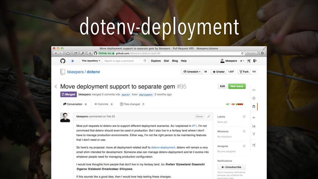 dotenv-deployment