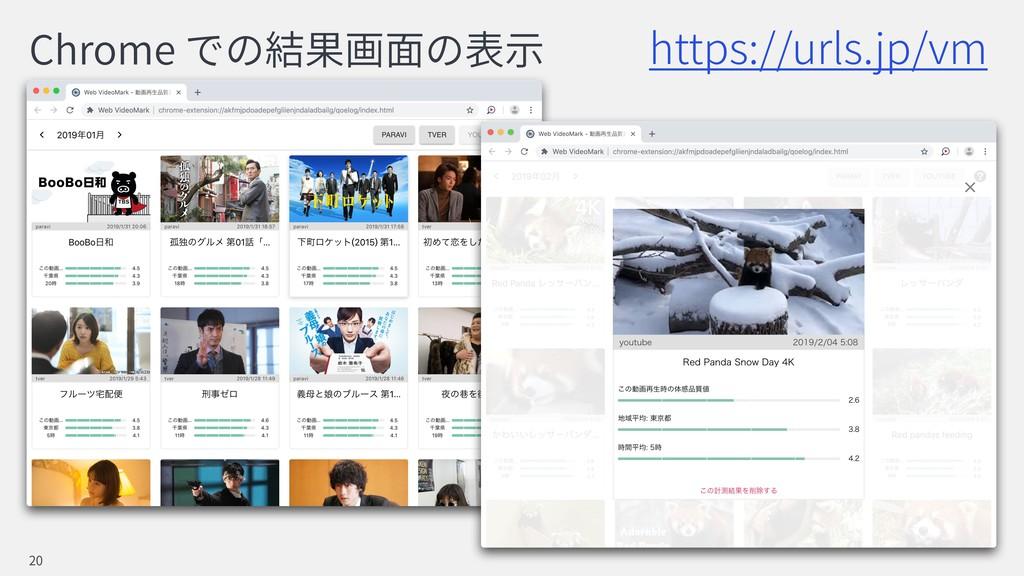 Chrome 20 https://urls.jp/vm