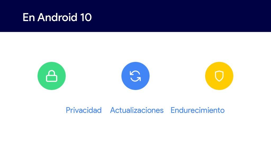 En Android 10 Privacidad Actualizaciones Endure...