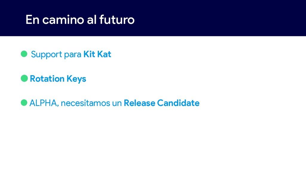 En camino al futuro • Support para Kit Kat •Rot...