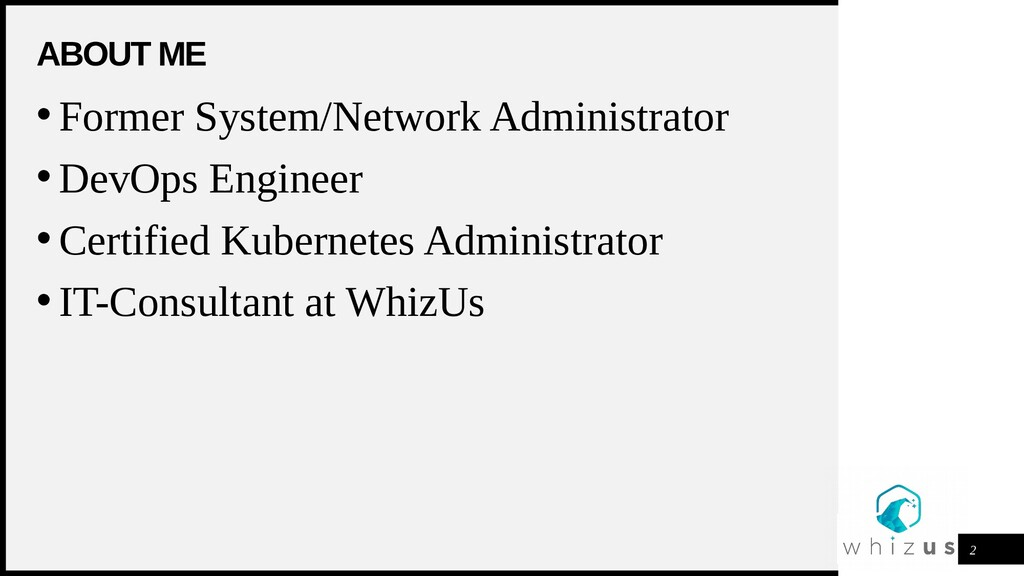 WOODGROVE BANK ABOUT ME 2 • Former System/Netwo...