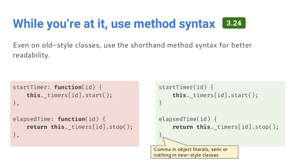 While you're at it, use method syntax startTime...