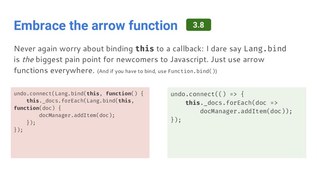 Embrace the arrow function undo.connect(Lang.bi...