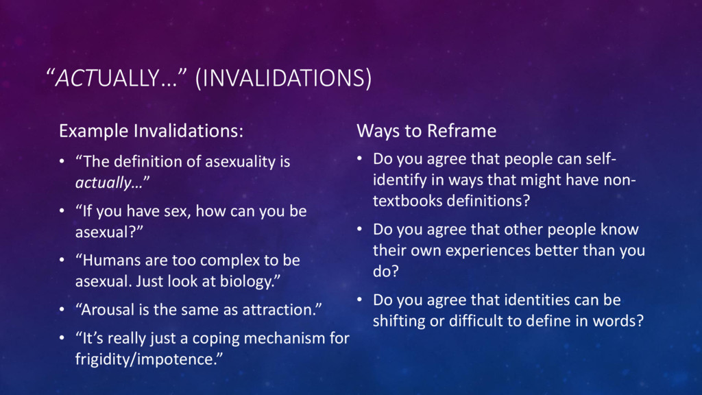 """ACTUALLY…"" (INVALIDATIONS) Example Invalidatio..."