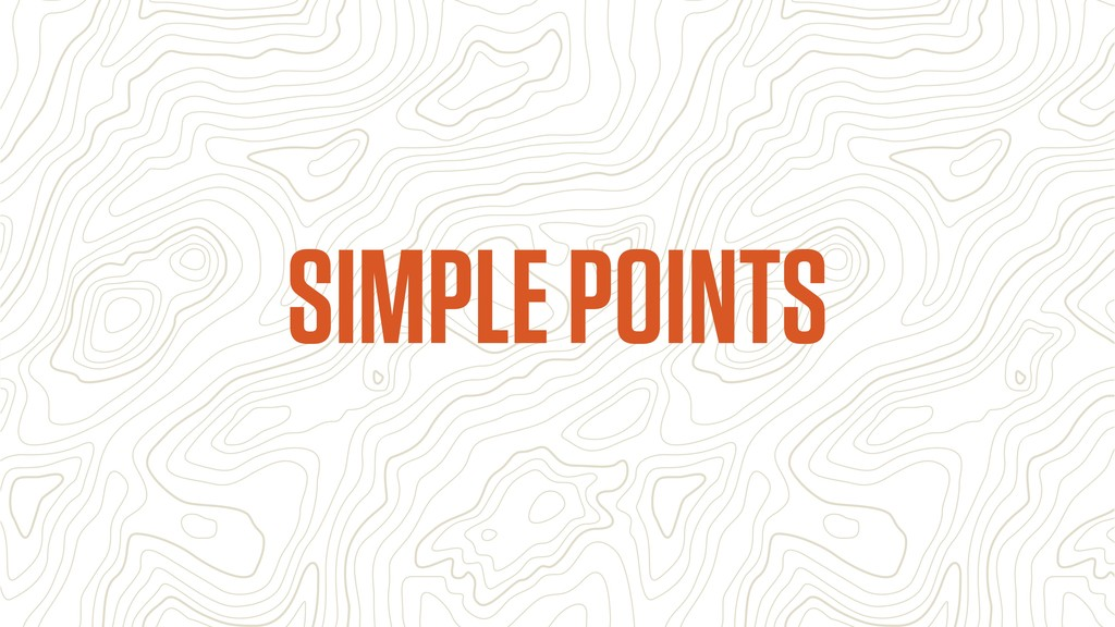 SIMPLE POINTS