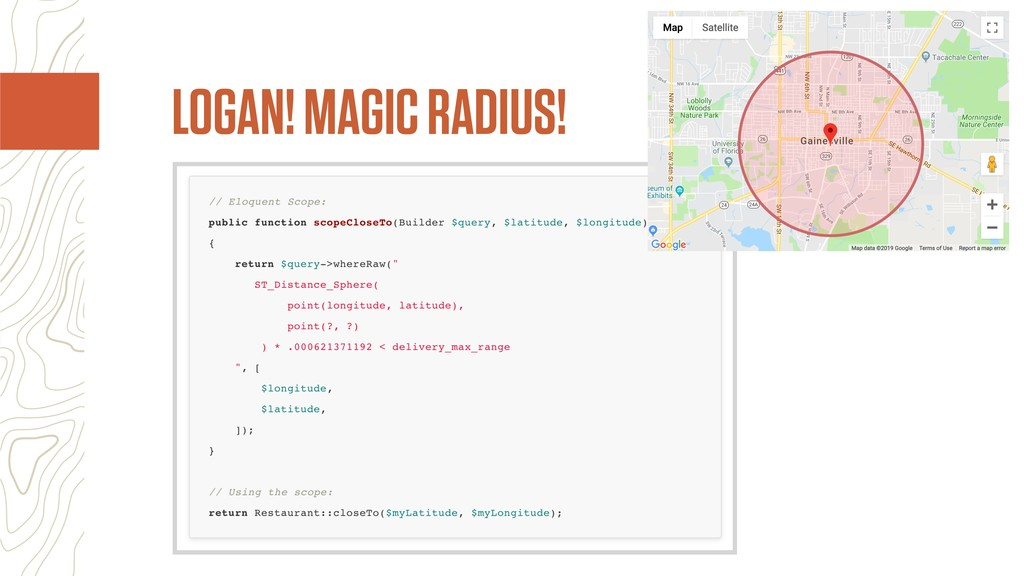 LOGAN! MAGIC RADIUS!