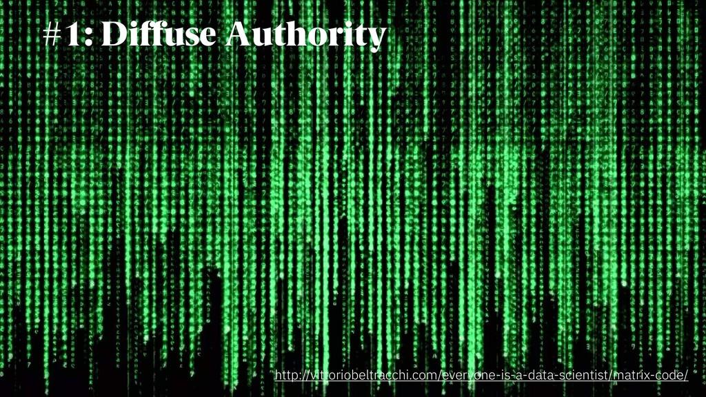 #1: Diffuse Authority http://vittoriobeltracchi...