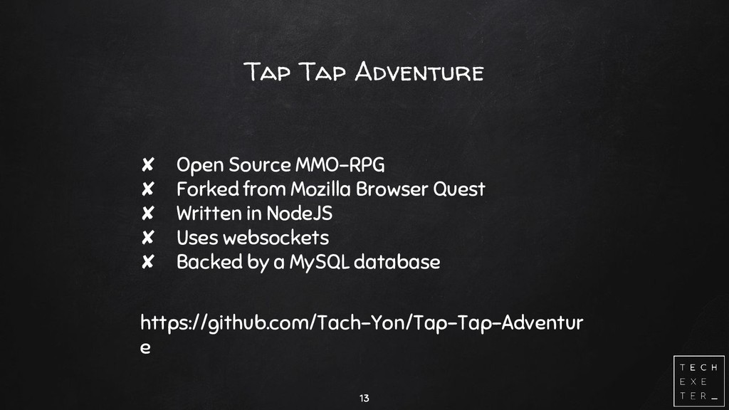 Tap Tap Adventure ✘ Open Source MMO-RPG ✘ Forke...