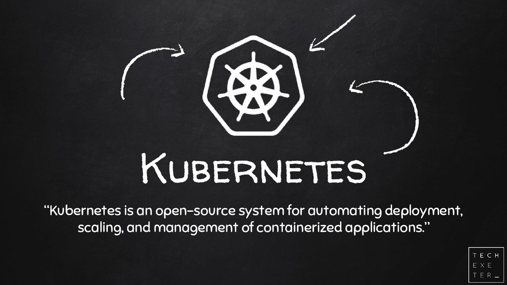 """Kubernetes """"Kubernetes is an open-source system..."""