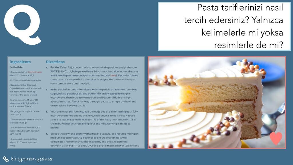bit.ly/pasta-yesinler Q Pasta tariflerinizi nas...