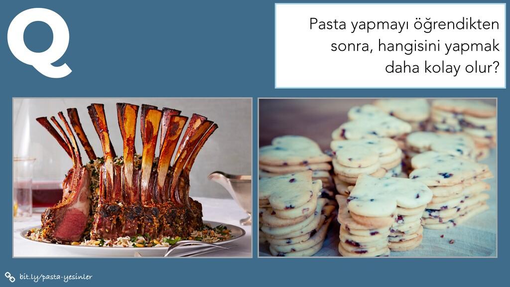 bit.ly/pasta-yesinler Q Pasta yapmayı öğrendikt...