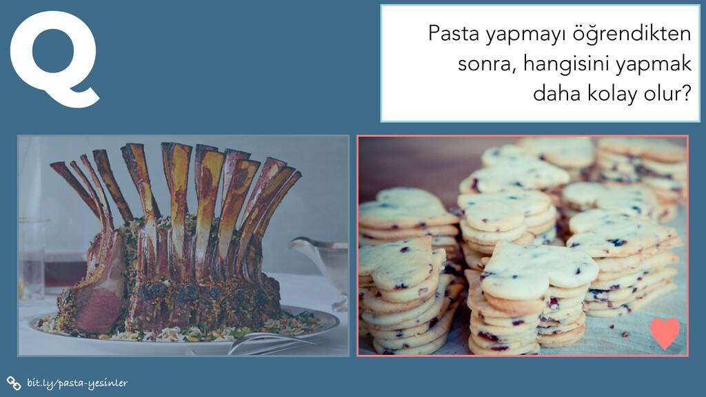bit.ly/pasta-yesinler Q — Pasta yapmayı öğrendi...