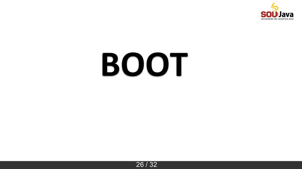26 / 32 BOOT