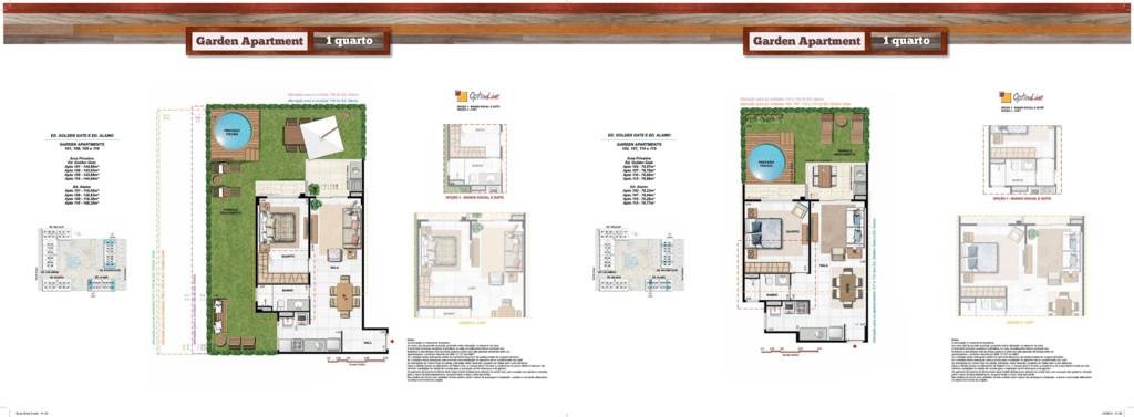 Garden Apartment 1 quarto Garden Apartment 1 qu...