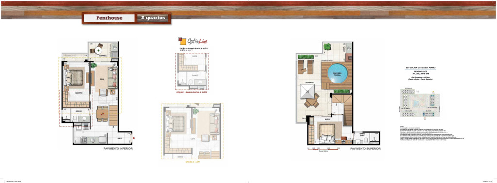 Penthouse 2 quartos • Book West 9.indd 65-66 14...