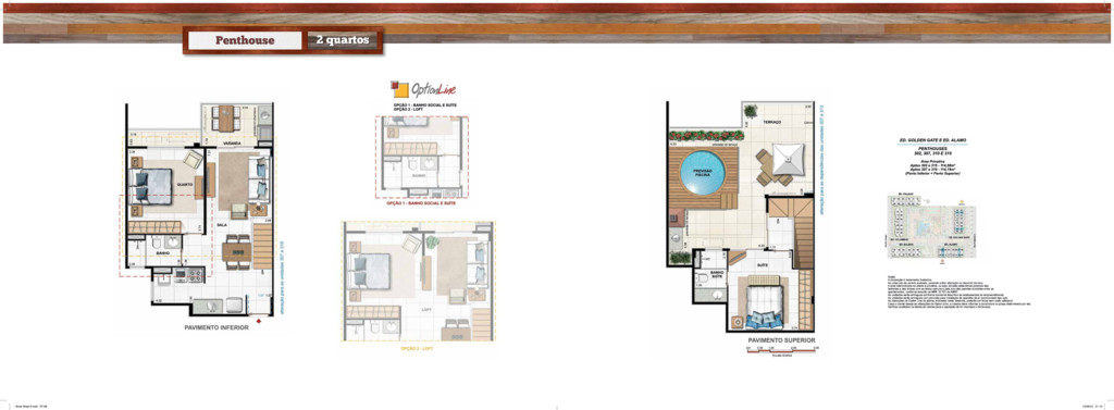 Penthouse 2 quartos • Book West 9.indd 67-68 14...
