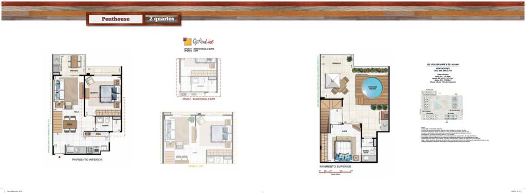 Penthouse 2 quartos • Book West 9.indd 69-70 14...
