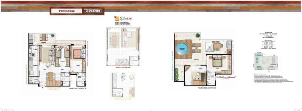 Penthouse 3 quartos • Book West 9.indd 71-72 14...