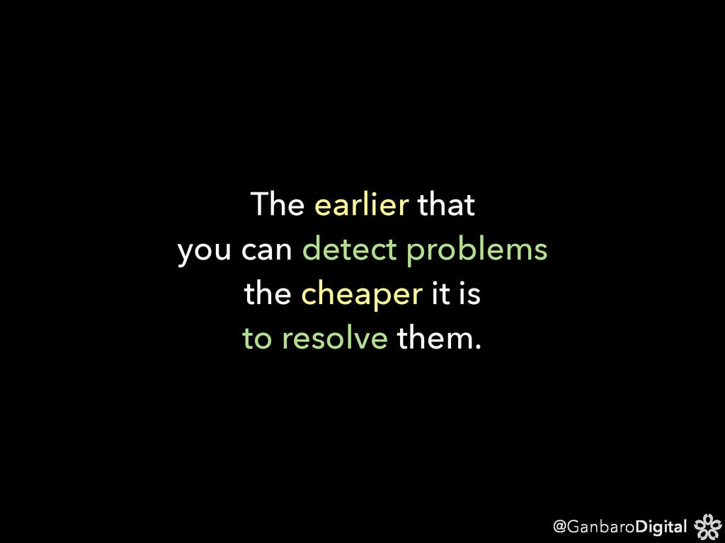 @GanbaroDigital The earlier that you can detect...
