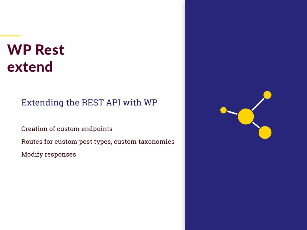 Extending the REST API with WP Creation of cust...