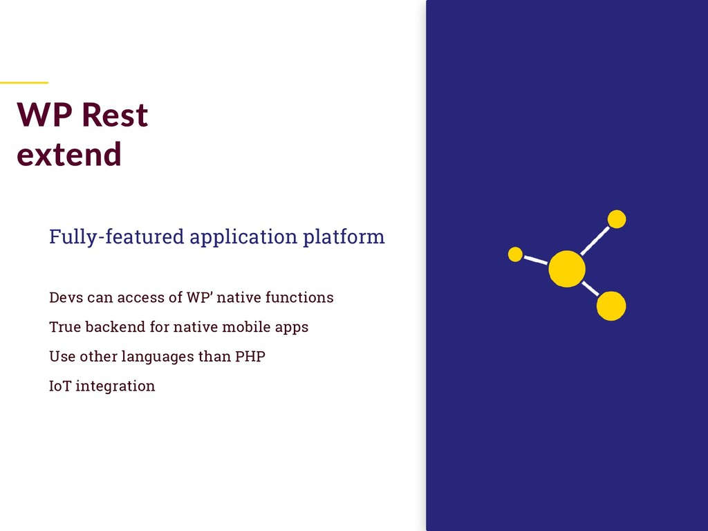Fully-featured application platform Devs can ac...