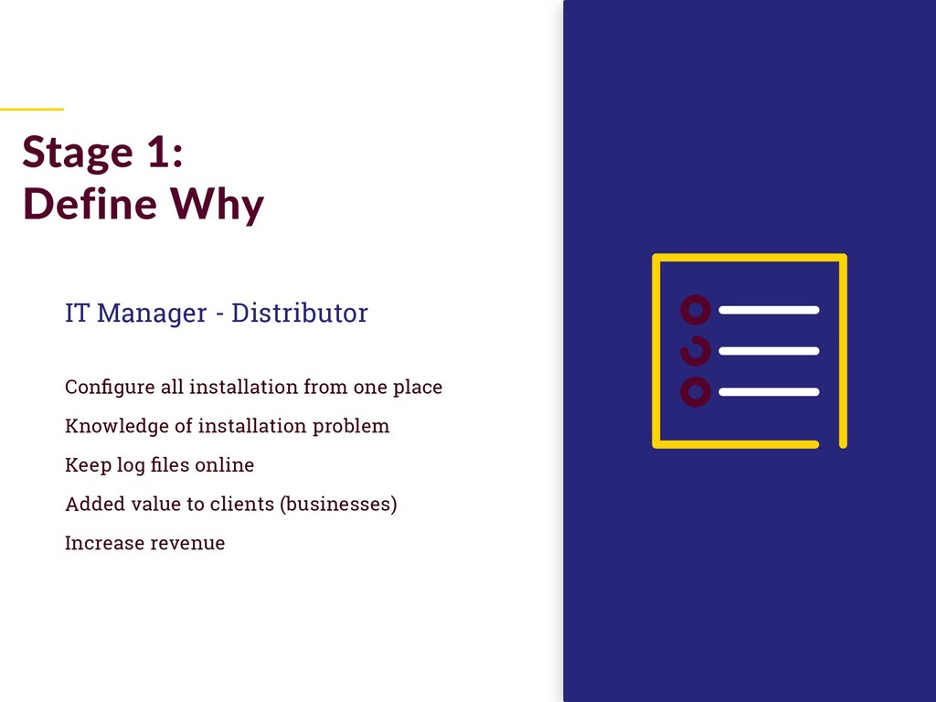 IT Manager - Distributor Configure all installa...