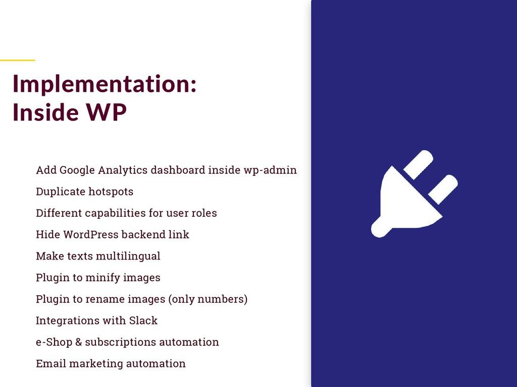 Add Google Analytics dashboard inside wp-admin ...