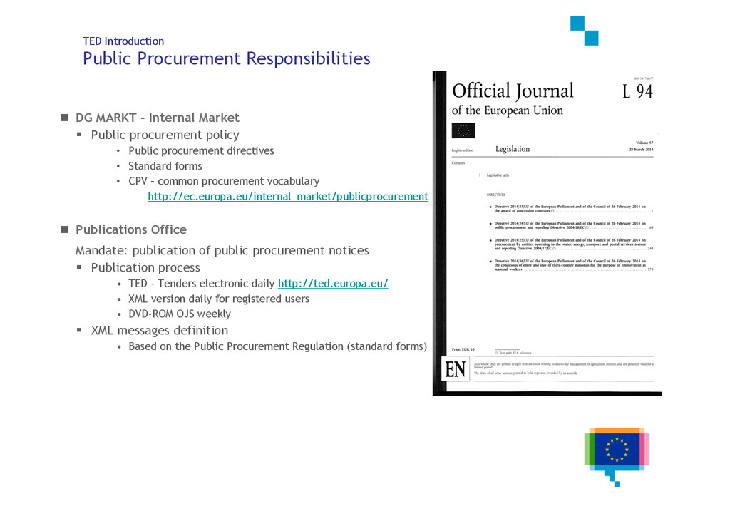 3 of 25 TED Introduction Public Procurement Res...