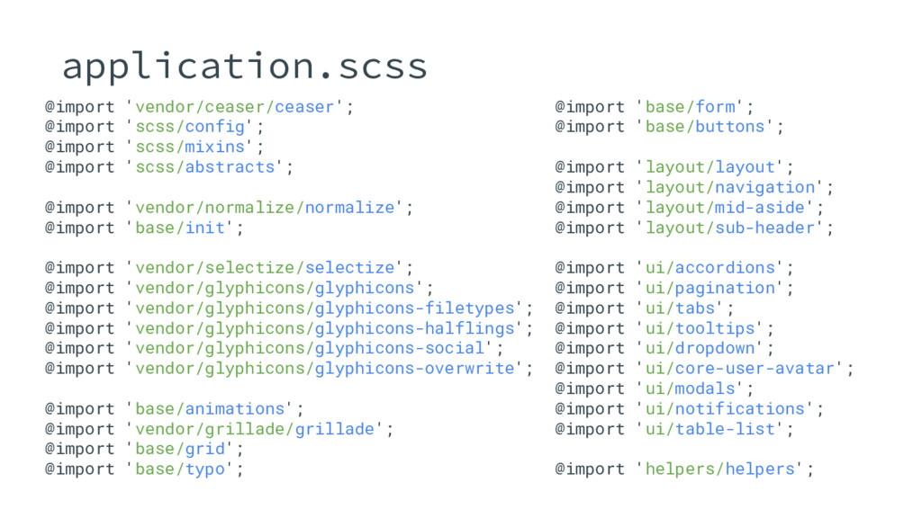 @import 'vendor/ceaser/ceaser'; @import 'scss/c...