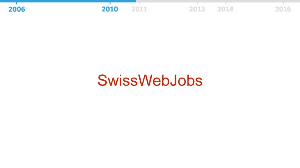 SwissWebJobs 2006 2010 2011 2013 2014 2016 2006...