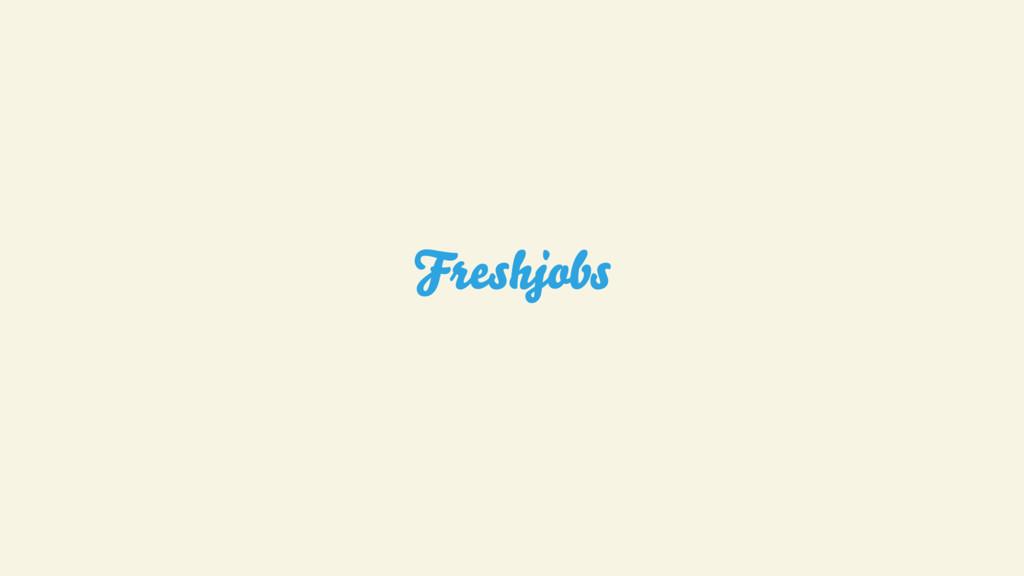 Freshjobs