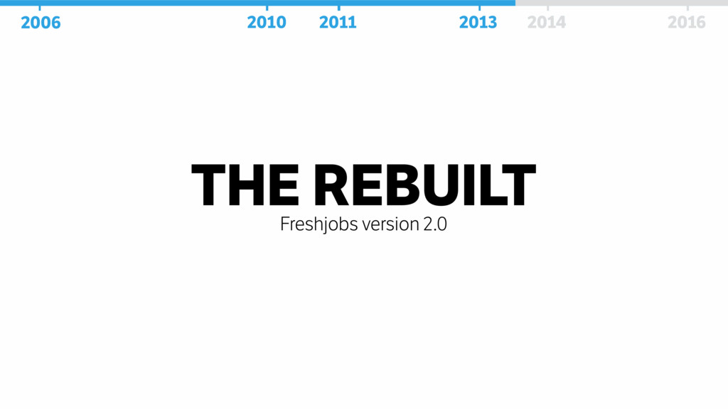 THE REBUILT Freshjobs version 2.0 2006 2010 201...