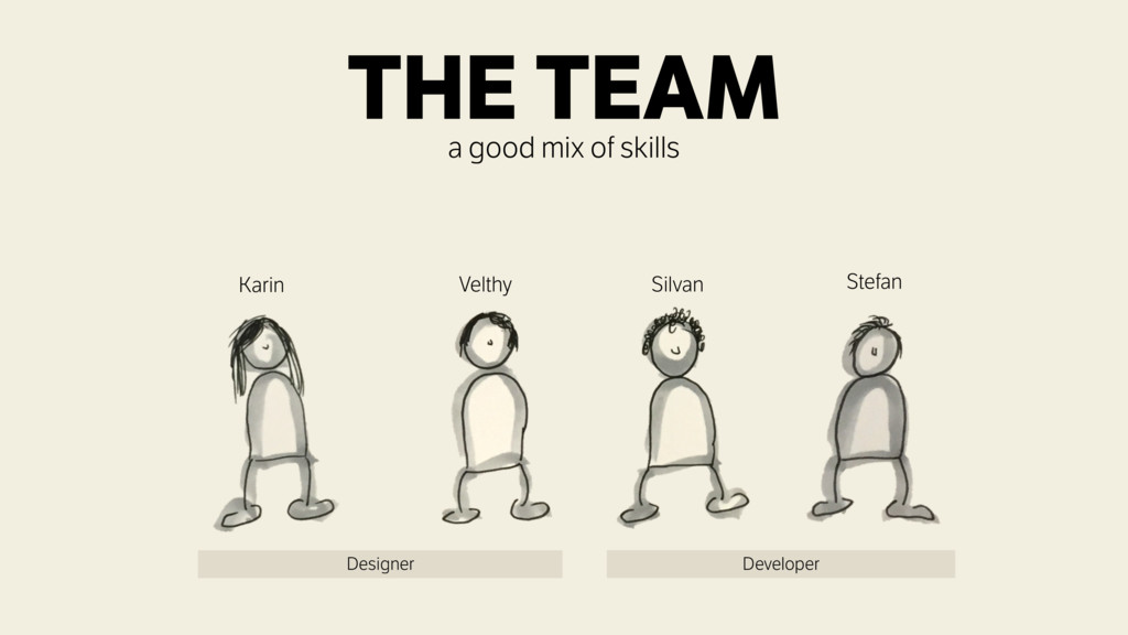 Silvan Velthy Karin Stefan Designer Developer T...