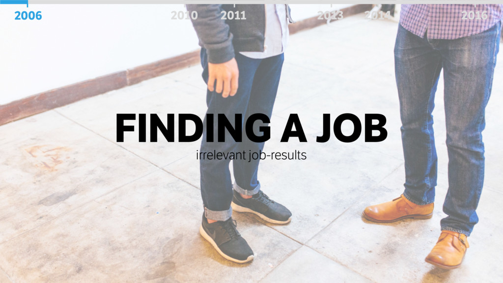 FINDING A JOB irrelevant job-results 2006 2010 ...