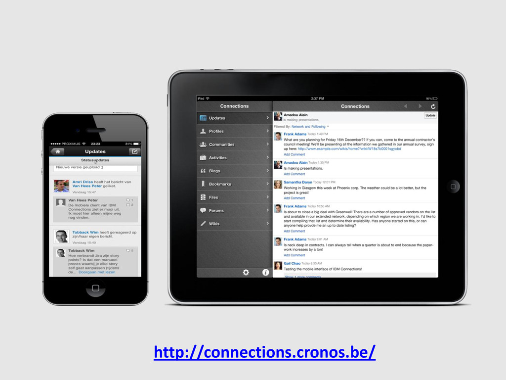 http://connections.cronos.be/