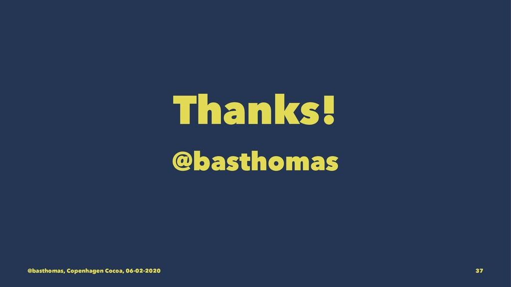 Thanks! @basthomas @basthomas, Copenhagen Cocoa...