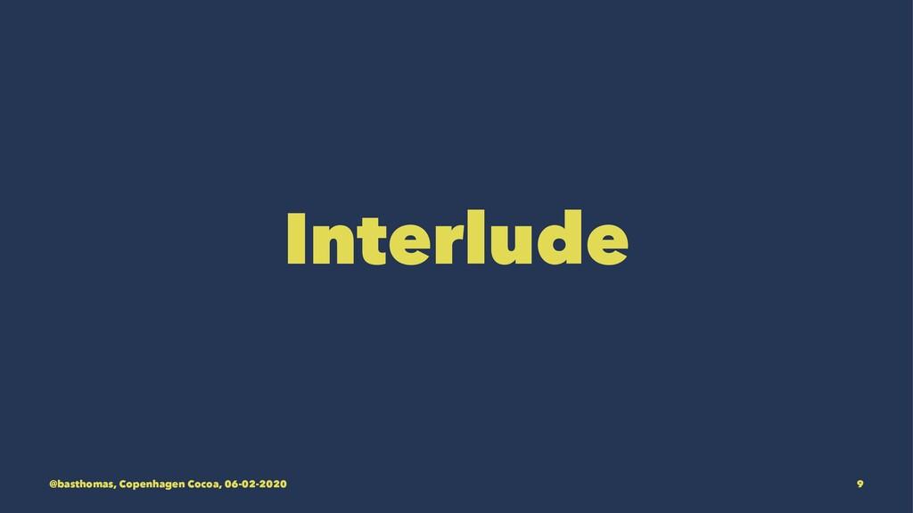 Interlude @basthomas, Copenhagen Cocoa, 06-02-2...