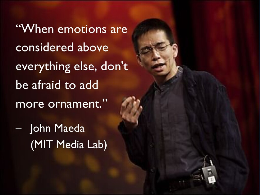 """""""When emotions are considered above everything ..."""