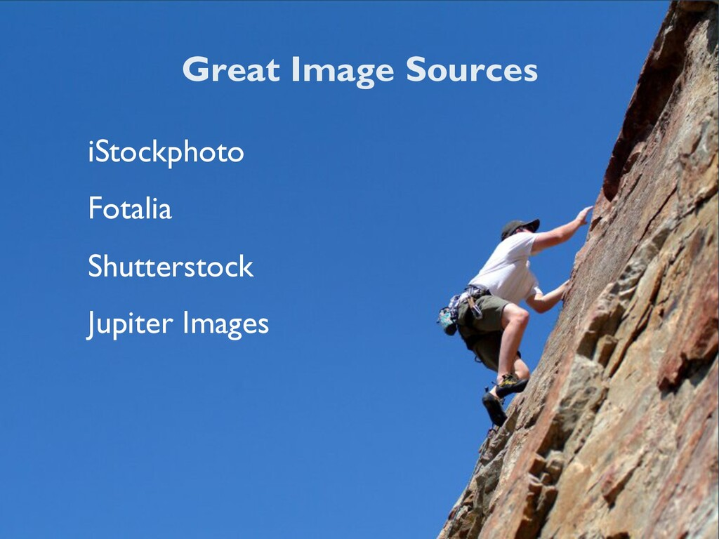 Great Image Sources iStockphoto Fotalia Shutter...