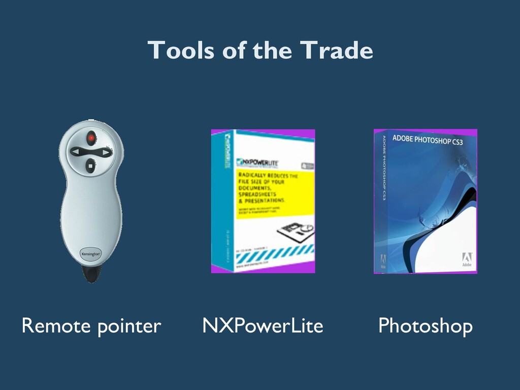 Tools of the Trade Remote pointer NXPowerLite P...