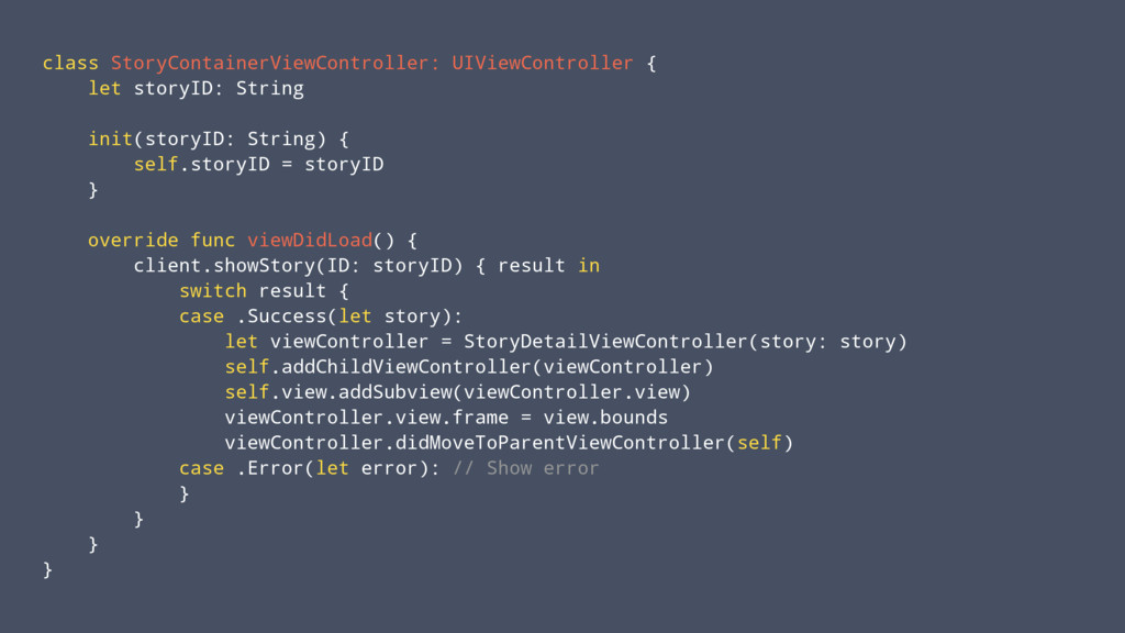 class StoryContainerViewController: UIViewContr...