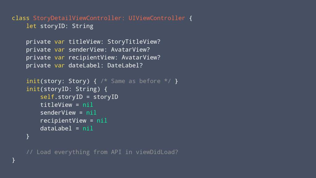 class StoryDetailViewController: UIViewControll...