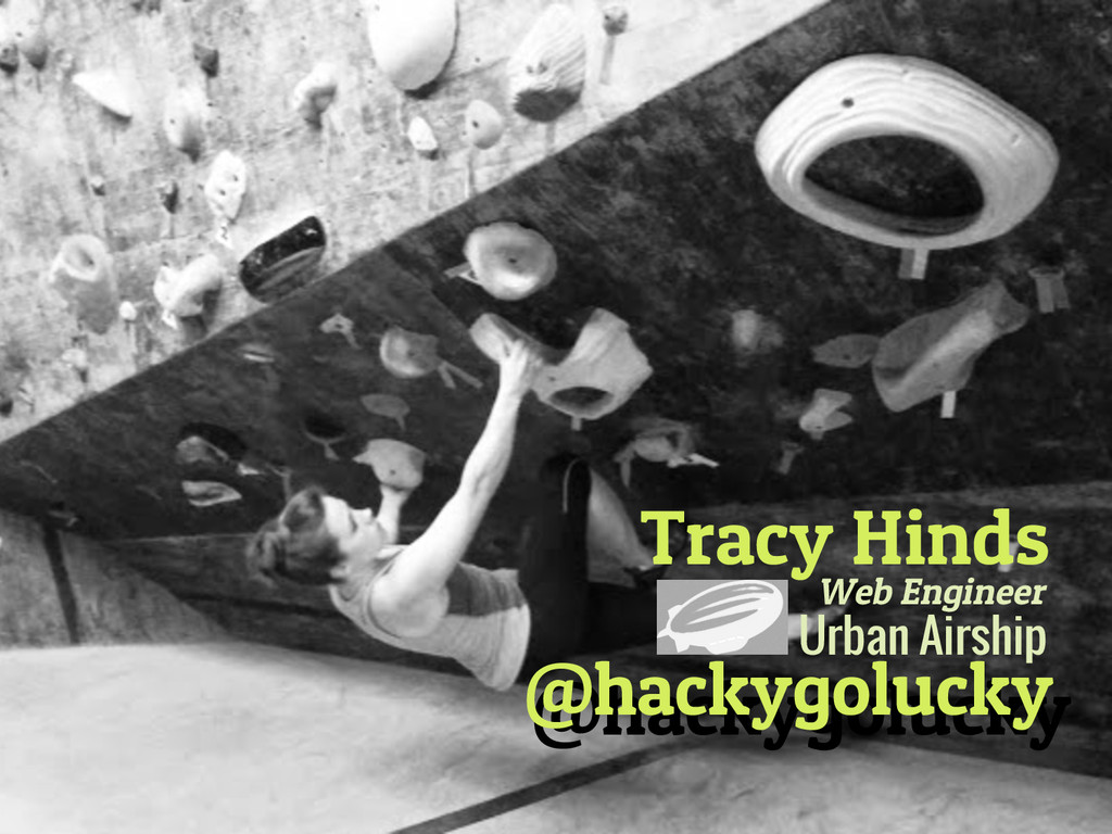 Tracy Hinds @hackygolucky @hackygolucky Urban A...