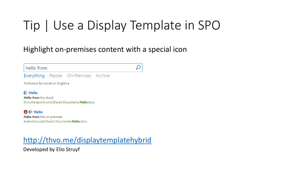 Tip | Use a Display Template in SPO Highlight o...