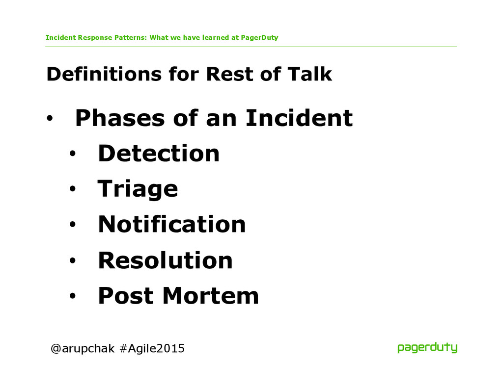 @arupchak #Agile2015 Definitions for Rest of Ta...