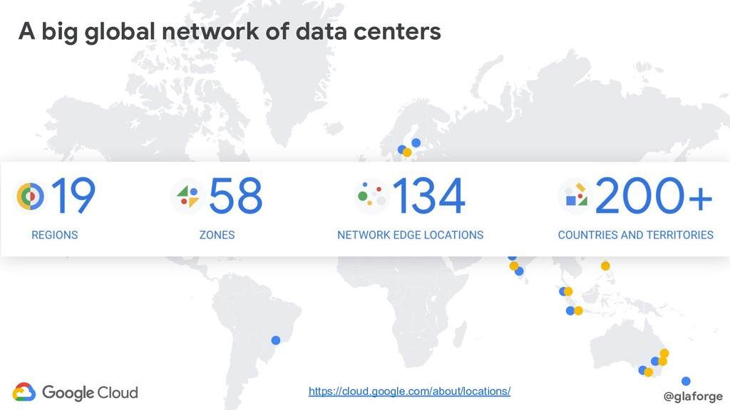 @glaforge A big global network of data centers ...