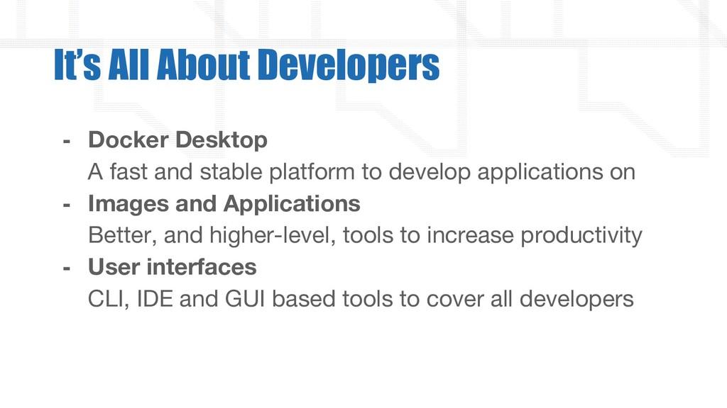 - Docker Desktop A fast and stable platform to ...