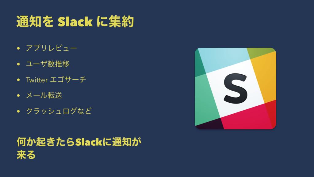 ௨Λ Slack ʹू • ΞϓϦϨϏϡʔ • ϢʔβਪҠ • Twitter Τΰαʔ...