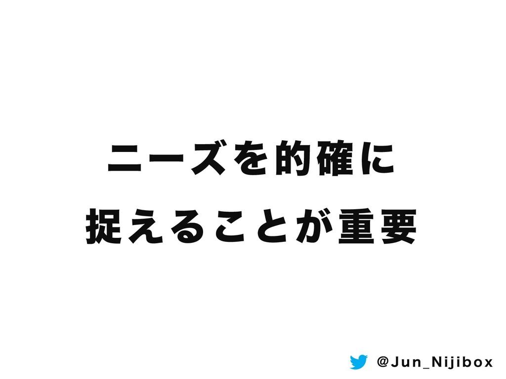 χʔζΛత֬ʹ ଊ͑Δ͜ͱ͕ॏཁ ! + V O @ / J K J C P Y