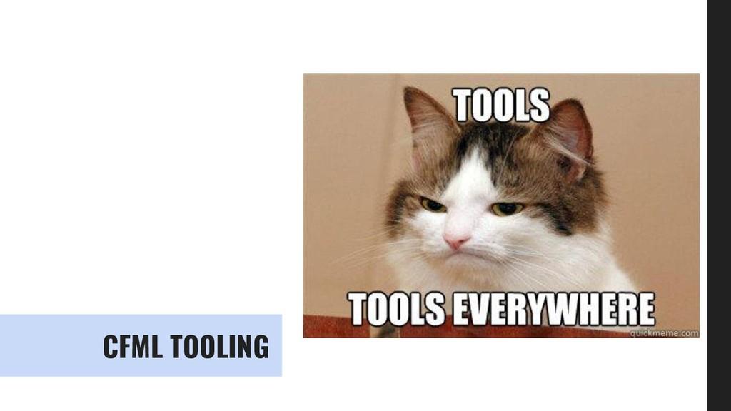 CFML TOOLING